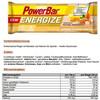 PowerBar New Energize Sportvoeding met basisprijs Original Vanilla Almond 25 x 55g geel/bruin